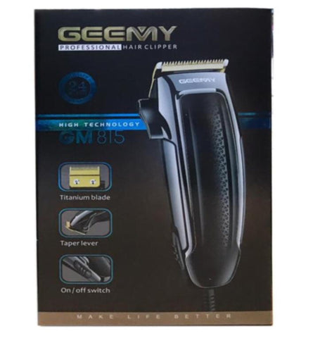 Geemy Professional Hair Clipper - GM815