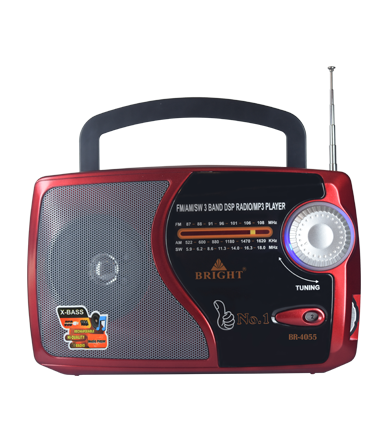 Bright Rechargeable USB Radio BR-4055
