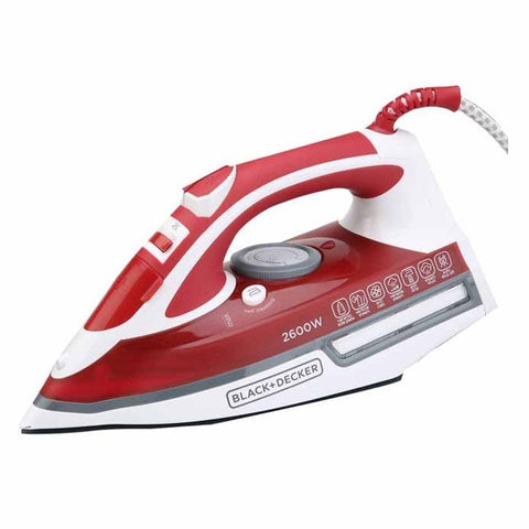 Black+Decker 2600W Special Edition Steam Iron