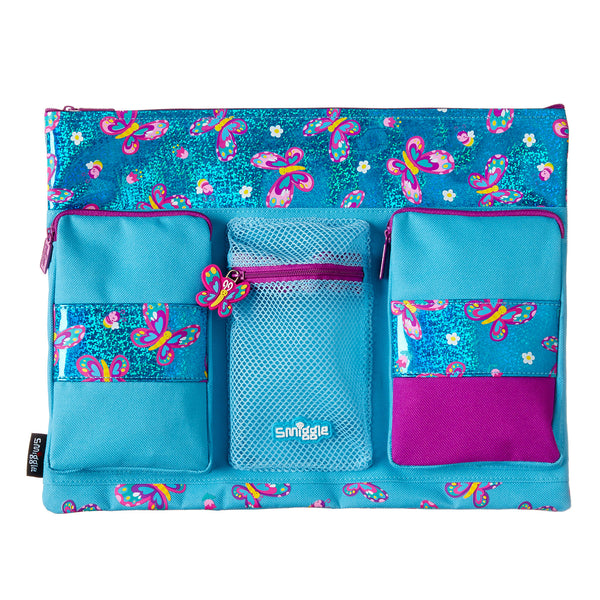 Smiggle City A4 Pencil Case