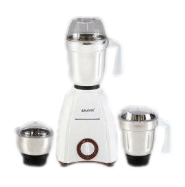 Orange Electric Mixer Grinder