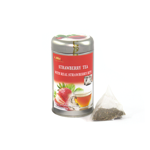 Black Tea with Strawberry - 24 Tea Bags