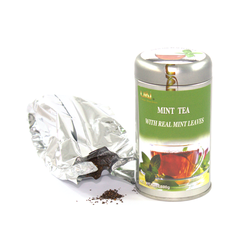 Black Tea with Mint - Loose Leaf 100g