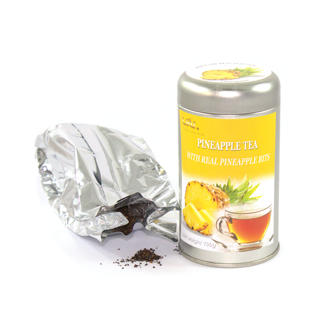 Black Tea with Pineapple - Loose Leaf 100g