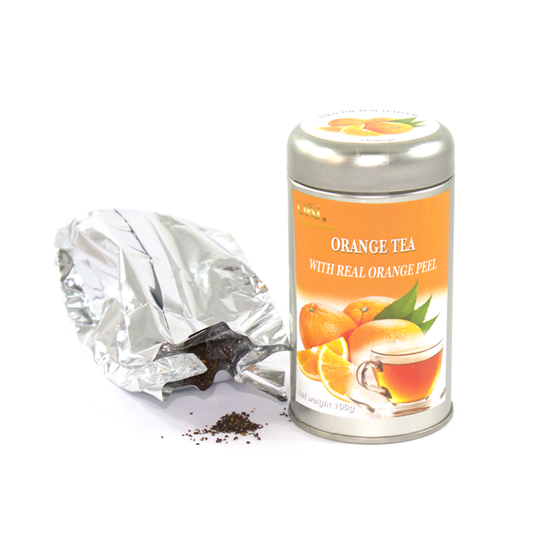 Black Tea with Orange - Loose Leaf 100g