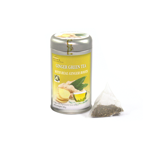 Green Tea with Ginger - 24 Tea Bags