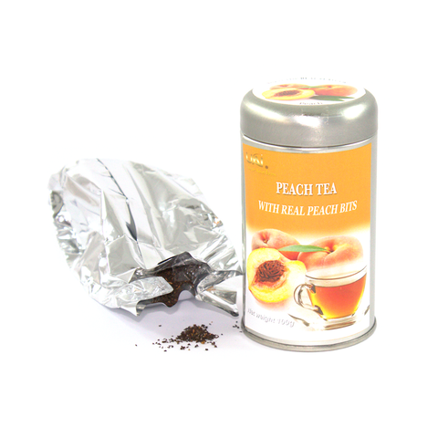 Black Tea with Peach - Loose Leaf 100g