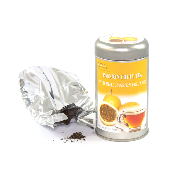 Black Tea with Passion Fruit - Loose Leaf 100g