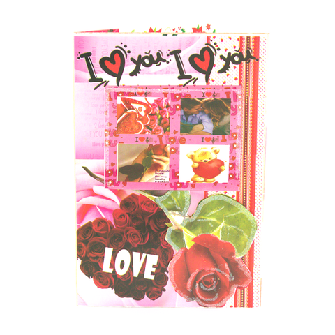 Pop Up Greeting Card