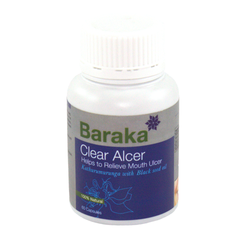 Baraka Clear Alcer - Helps to Relieve Mouth Ulcer