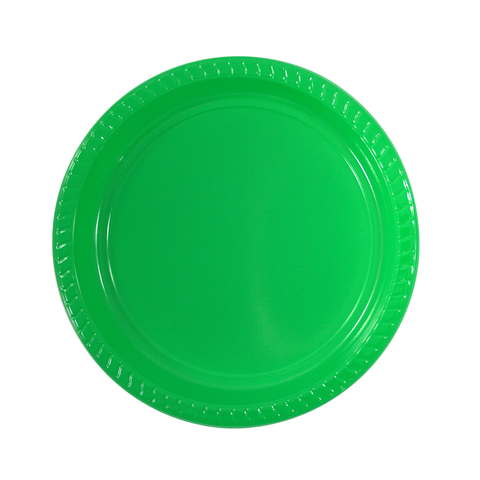 7in Plastic Plates - 15pcs Set