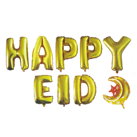 Happy Eid Balloons