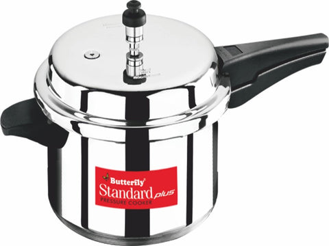 Butterfly Aluminum Pressure Cooker - Std Plus