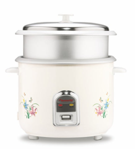 Butterfly Rice Cooker with Steamer