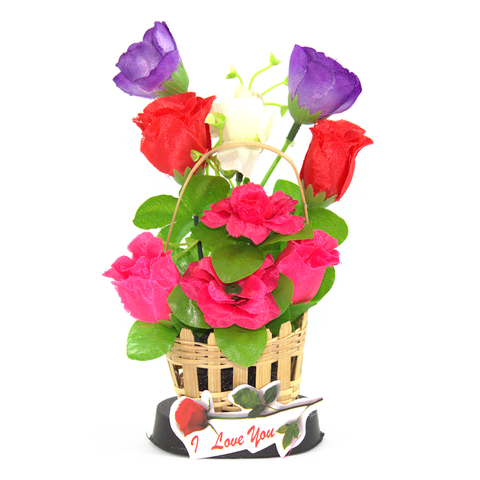 Rose Basket Ornament
