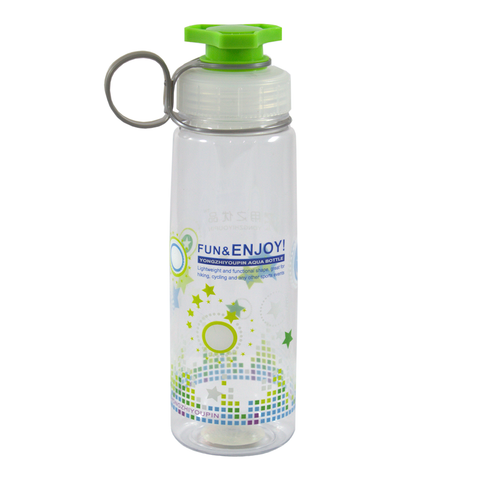 Multi-Purpose Water Bottle with Finger Loop