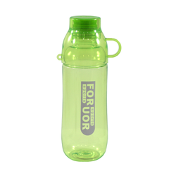 Bottle with Drinking Cup Cover