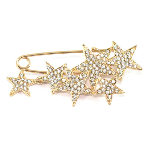 Cluster of Stars Brooch