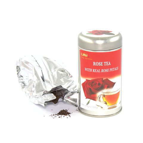 Black Tea with Rose - Loose Leaf 100g
