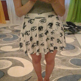 Anime Eyes Skirt