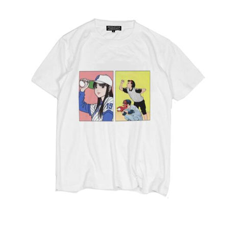 Baseball Manga Shirt