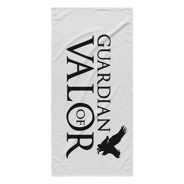 Guardian of Valor Beach Towel