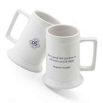 16 oz. Famous Beer Quote Stein - Henny Youngman