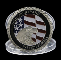 9-11 Commerative Collectors Challenge Coin