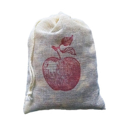 Apple Spice Sachets Printed with Red Apple - 3 pack