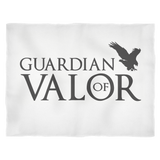 Guardian of Valor Small Fleece Blanket