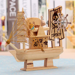 Handcrafted Ship music box