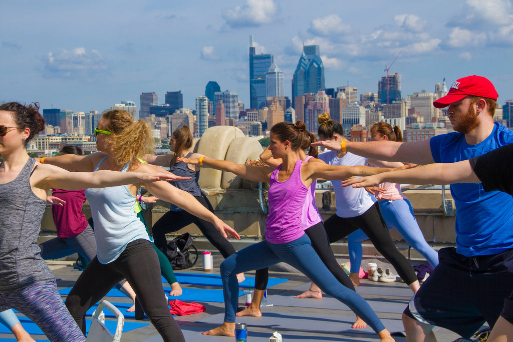 Rooftop Yoga For The Pups Recap