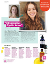 Seventeen Magazine page with Chestnut Hill Cleansing Serum on it