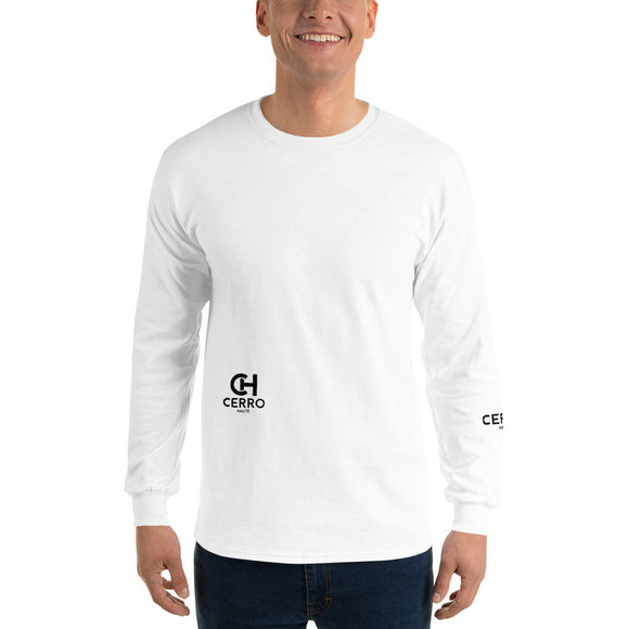 MEN'S LONG SLEEVE SHIRT WITH CRAB PRINT