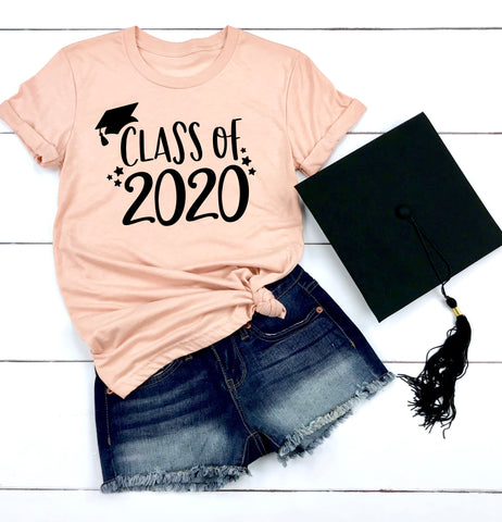 Class of 2020 Graduation Shirt - High School Graduation Shirt - Seniors 2020 Shirt - College Graduation Shirt
