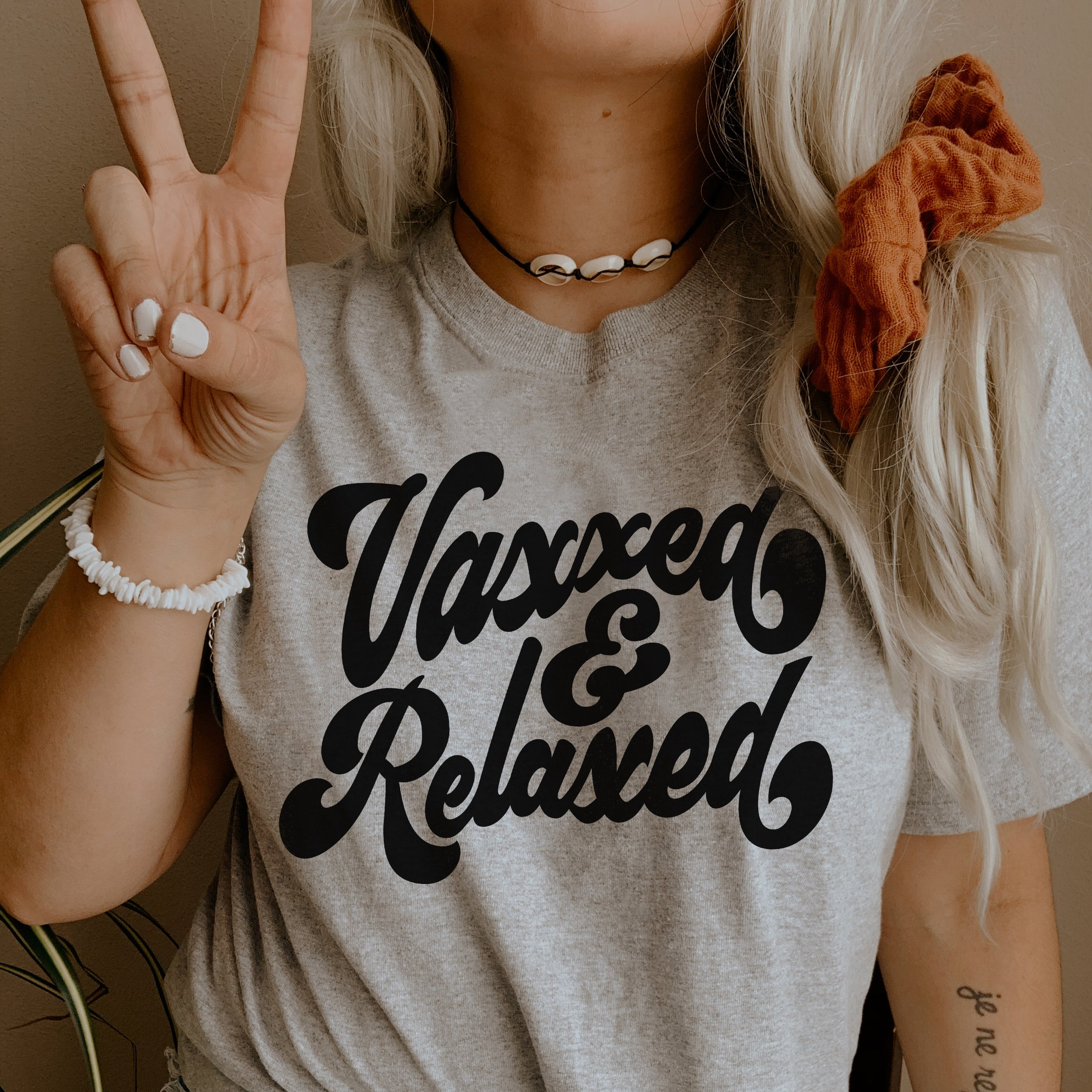 Vaxxed and Relaxed Shirt - Vaccinated Shirt - Vaccine Shirt Unisex SS
