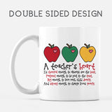 A Teacher's Heart Mug