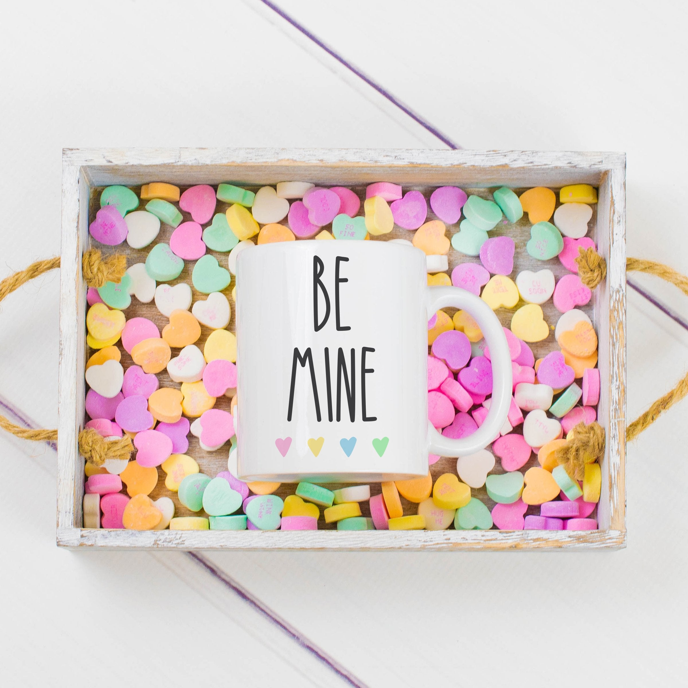 Be Mine Mug Valentines Day Mug Valentine Mug Farmhouse Valentines Day Mug