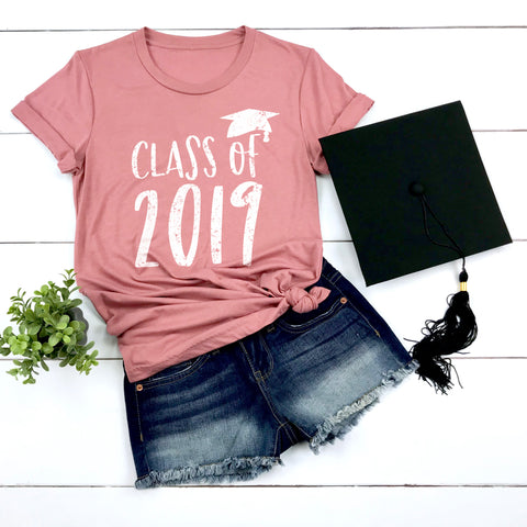 Class of 2019 Graduation Shirt High School Graduation Shirt College Graduation Shirt Grad Gift