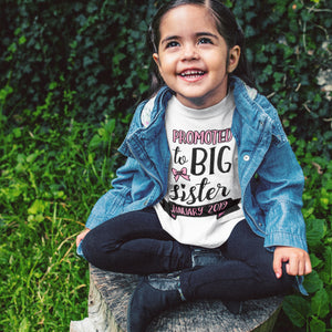 Big Sister Pregnancy Announcement Shirt Promoted to Big Sister Shirt