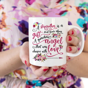 Stepmom Gift A Stepmother is a Gift Mug Mother's Day Gift for Stepmom Gift for Stepmother Poem Stepparent Stepmom Poem Quote