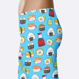 Sushi Leggings Cute Sushi Leggings Kawaii Sushi Leggings Kawaii Leggings Yoga Pants Capris Shorts Sushi Lover Gift