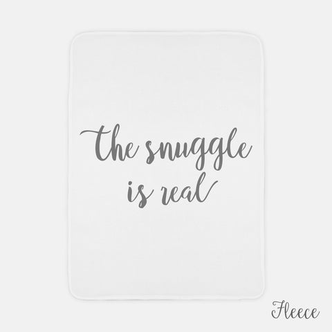 The Snuggle is Real Blanket - AlluringPrints