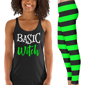 Basic Witch Halloween Costume Set Funny Witch Halloween Costume Cute Funny Witch Halloween Costume Halloween Outfit Basic Witch Shirt Witch Leggings