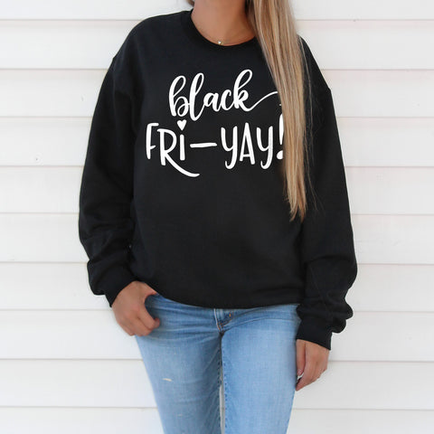 Black Friday Sweatshirt Black Friyay Shirt Cute Black Friday Shopping Shirt Black Friday Shirt Thanksgiving Sweatshirt