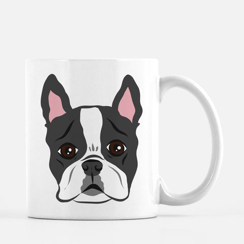 Boston Terrier Dad Mug