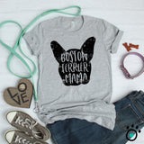 Boston Terrier Mama Shirt - Boston Terrier Mom Shirt - Dog Mom Shirt - Fur Mom Shirt - Dog Lover Gift - Dog Owner Gift