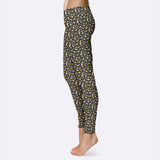 Cheetah Print Leggings Animal Print Leggings Capris Yoga Shorts Yoga Leggings