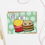Flirting Fast Food Card