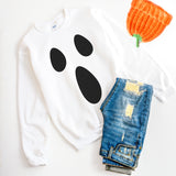 Ghost Sweatshirt Ghost Halloween Costume Ghost Shirt Ghost Sweater Cute Halloween Sweatshirt
